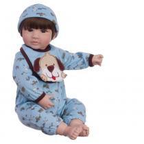 Boneco Laura Doll Blue Petzz - Bebe Reborn - Adora doll shiny toys