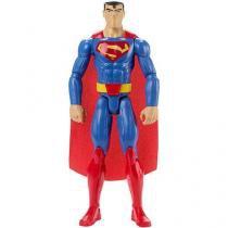 Boneco liga da justiça action 30cm superman mattel ffx34 - Mattel