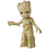 Boneco Marvel Guardiões da Galáxia Groot Dançarino - Hasbro