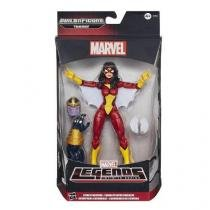 Boneco marvel legends 6 spider-woman hasbro b0438 - Hasbro