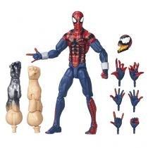 Boneco Marvel Legends - Edge of Spider-Verse - Ben Reilly com Acessórios - Hasbro