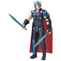 Boneco Marvel Ragnarok Thor com Acessórios  - Hasbro