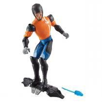 Boneco Max Steel e Vilões Articulado Figura Especial Mattel -