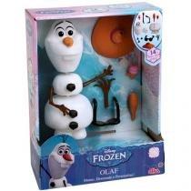 Boneco Olaf Disney Frozen com Acessórios - Elka