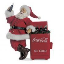 Boneco Papai Noel C/ Coca Cola Decoração Natal Vermelho - Cromus