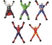 Boneco Pegajoso Stick Hero Avengers Candide - C1461 -