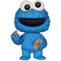 Boneco Pop - Sesame Street Cookie Monster  - Funko