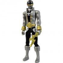 Boneco Power Rangers 30cm Super Mega Force Prata 1040 - Sunny - Sunny Brinquedos