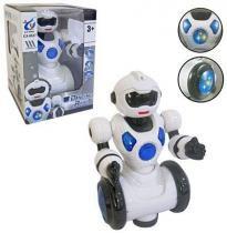 Boneco/Robo Dancing Robot Com Som E Luz A Pilha - 20 comercial