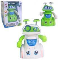 Boneco/Robo Robot Do Not Fall Com Som E Luz A Pilha - 20 comercial