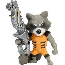 Boneco Rocket Raccoon Metals Guardians Of Galaxy - DTC
