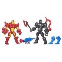 Boneco Sipder-Man vs Ultron Marvel Super Hero Mash - 25,5cm com Acessórios Hasbro