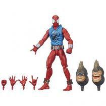 Boneco Spider-Man Infinite Legends Scarlet Spider - 15cm com Acessórios - Hasbro