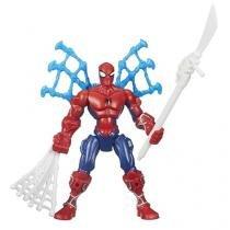 Boneco Spider-Man Marvel Super Hero Mashers 22,9cm - com Acessórios Hasbro