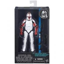 Boneco Star Wars Black Series Clone Captain - com Mecanismo Hasbro