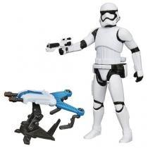 Boneco Star Wars O Despertar da Força - Stormtrooper Primeira Ordem com Acessório - Hasbro