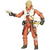 Boneco Star Wars The Black Series 6 Pilot Asty - Hasbro
