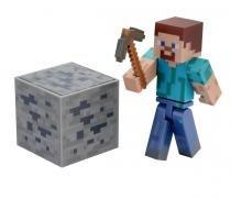 Boneco Steve Minecraft Com Acessórios - BR144B - Minecraft