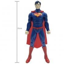 Boneco Superman com Frases 35cm - Candide - Candide