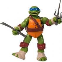 Boneco tartarugas ninja figura em açao leonardo multikids br030 - Multikids
