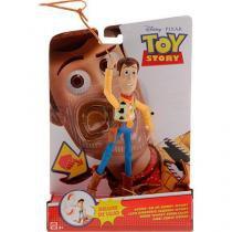 Boneco Toy Story Cowboy Woody Deluxe Disney - Mattel - Mattel
