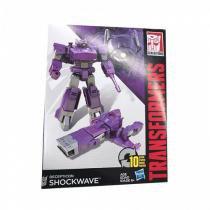 Boneco Transformers Generations CYBER 7 Shockwave Hasbro B0785 10814 -