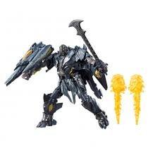Boneco Transformers - O Último Cavaleiro - 22 cm - Premier Edition Leader Class - Megatron - Hasbro -