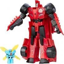 Boneco Transformers Power Surge Sideswipe - Hasbro -