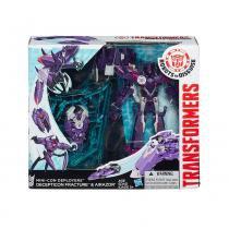 Boneco Transformers Rid Minicons Deploy Decepticon Fracture - Hasbro - hasbro