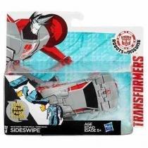 Boneco transformers rid one step sideswipe hasbro b0068 10799 - Hasbro