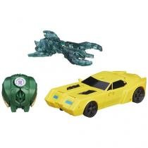Boneco Transformers Robots in Disguise - Bumblebee e Major Mayhem Hasbro