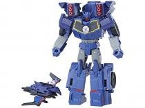 Boneco Transformers Robots in Disguise - Combiner Force Laserbeak e Soundwave 20,3cm Hasbro
