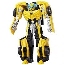 Boneco Transformers - The Last Knight - Turbo Changer - Bumblebee - Hasbro