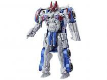Boneco Transformers - The Last Knight - Turbo Changer - Optimus Prime Hasbro