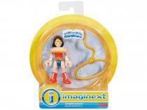 Boneco Wonder Woman Imaginext DC Super Friends - Fisher-Price