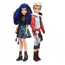 Bonecos Descendants - Disney - Casal - Evie e Carlos - Hasbro - Hasbro