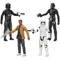 Bonecos Star Wars 4 Peças com Acessórios - Hasbro