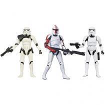 Bonecos Star Wars Black Series - Hasbro 3 Peças