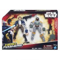 Bonecos Star Wars Episódio VII - Solo e Boba Fett - Hasbro -