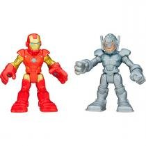 Bonecos Super Hero Adventure Playskool 2 Figuras Hasbro - Hasbro
