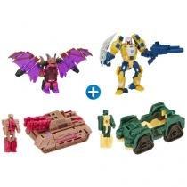 Bonecos Transformers Generations Deluxe - Titans Return 4 Peças Hasbro