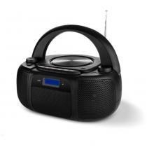 Boombox com Bluetooth FM e CD 25W RMS Preto Multilaser - SP244 - MULTILASER