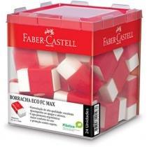 Borracha Branca Com Cinta Cx 24 Un Max Faber Castell - Faber-castell