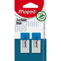 Borracha Technic Duo 2 Unidades 011712 Maped Blister - 952903