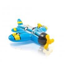 Bote Avião Azul com Pistola de Água - Intex - Intex