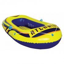 Bote inflável atlantis com remos e inflador para até 95kg mor 001853 -