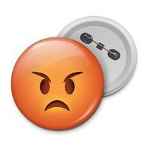 Botton emoticon - emoji bravo - Yaay