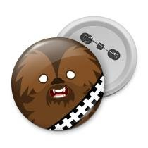 Botton geek side faces - chill bacca - Yaay