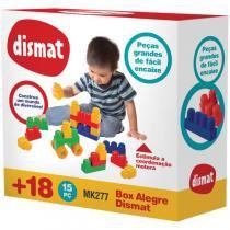 Box Alegre 15 Pcs Dismat Brinquedo Para Montar -