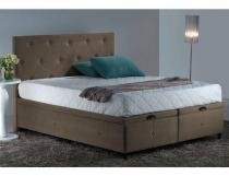 Box Baú Queen Marrom S.Design - Sleep design